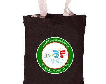 Peru Special Convention Bag   Lima Peru Special Convention Tote   Be Courageous   Special Convention 2018   Pin   JW Convention Bag