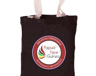 Papua New Guinea Special Convention Bag   Papau New Guinea Special Convention Tote   JW Convention Bag   Be Courageous   2018   JW Bags