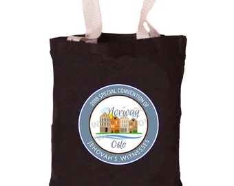 Norway Special Convention Bag   Oslo Special Convention Tote   Oslo, Norway Convention   Be Courageous   Special Convention 2018   Pin