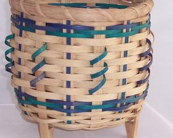 Round Footed Basket Pattern