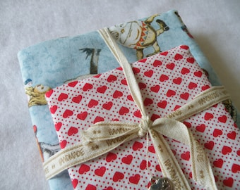 Alice in wonderland and hearts notebook set