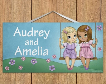 I/'m Being Promoted To Big Sister Wooden Hanging Wall Door Plaque