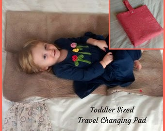 Corral Toddler Sized Travel Diaper Changing Pad Clutch, Fully Covers Koala Care Changing Stations!