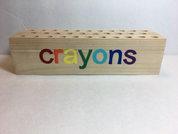 Crayon Holder Crayon Art Kid S Crafts Child Art Coloring Childrens Craft Supplies Art Supplies Organizer Kids Gift Unique Gift
