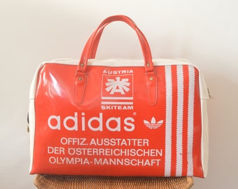 f1677531a5850 Vintage Adidas Sport Bag Skiteam Austria super RAR Original Olympia Team  Stuff- Strictly Limited Edition - Worldwide - free -shipping !!!