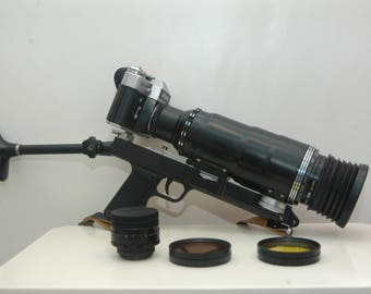 Photosniper FS-3 espionage/observation camera, made by KMZ in Russia (USSR).