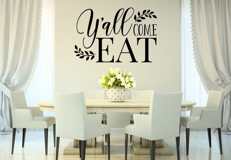 Dining Room Wall Decor Kitchen Decals