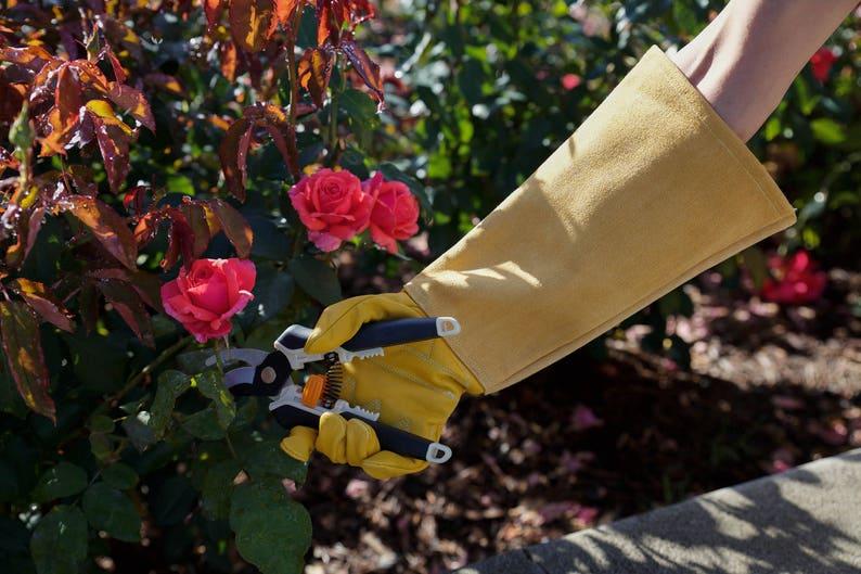 Womens Gardening Gloves Elbow Length Garden Gloves Offer -8632