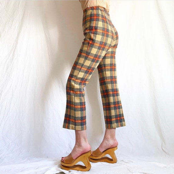 Vintage 60s/70s Plaid Pants