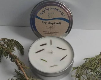 Citronella candle/Bug away candle/Cotton wick candle/Soy wax candle/Natural bug away candle