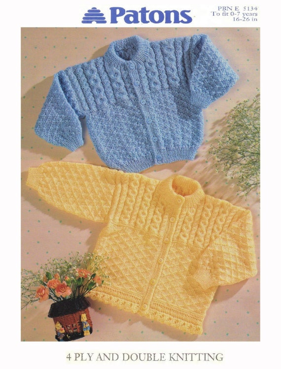 dca2e30bc520 Babies Toddlers And Childrens Cardigan With Cable Yoke And