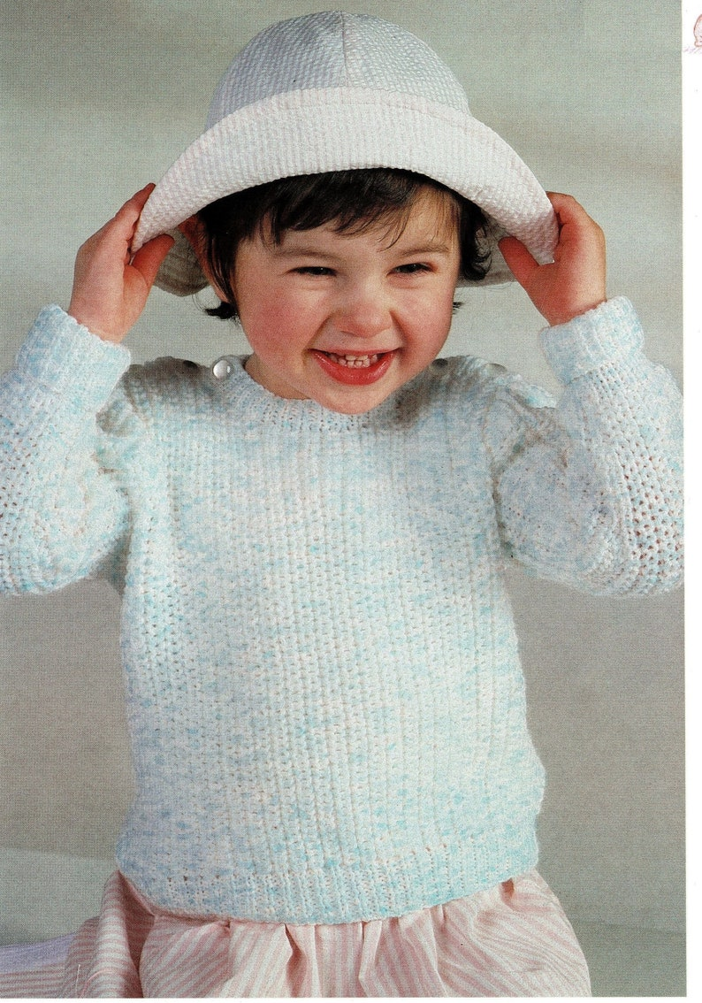 33b003d65 Toddlers and Childrens Timeless Fishermans Rib Sweater