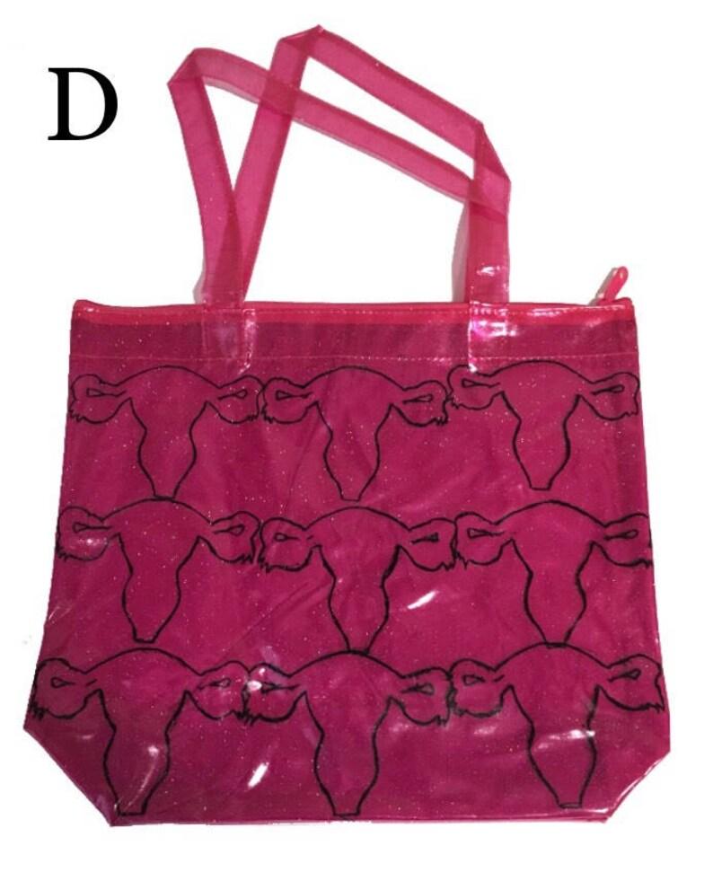 Pink Sparkle Surprise Tote Bag