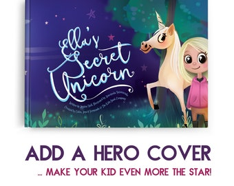 My Secret Unicorn - An educational, playful and highly personalised for learning kids book with... unicorns!