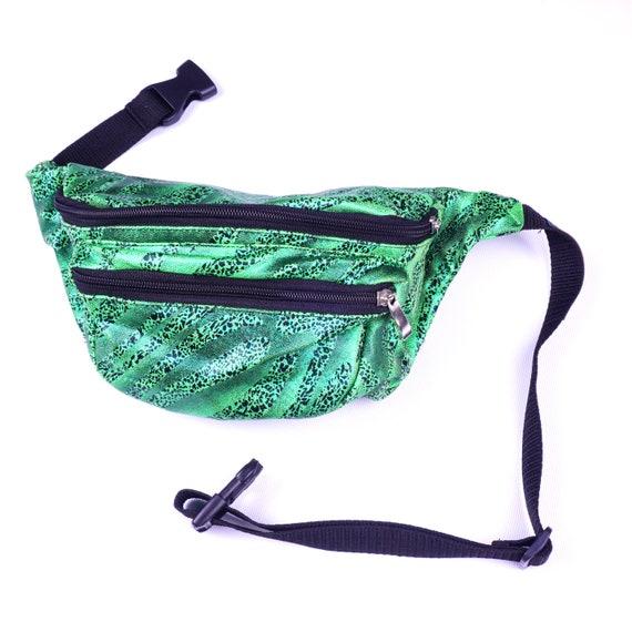 211c6c590d97 Emerald Safari - Bumbag / Fanny Pack - (Festival Bum bag, Designer Bum Bag,  Unisex Bum Bag, Utility Bag, Belt Bag Women)