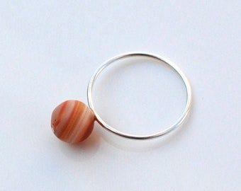 stacking ring planet ring jupiter ring solar system space jewelry