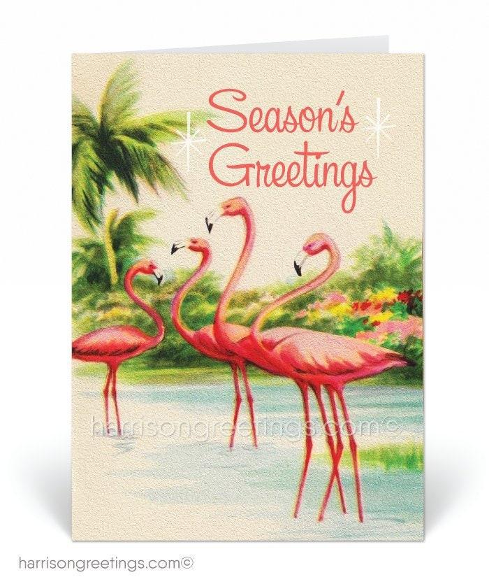 1950s Vintage Christmas Cards Printed Retro 1950s Vintage   Etsy