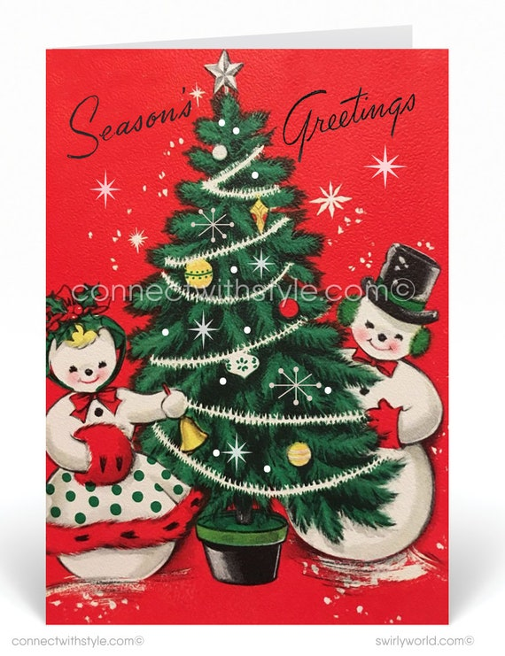 24 Holiday Note Cards Red Envs Warm Christmas