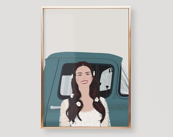 Lana Del Rey Poster, Lizzy Grant, Lust For Life, Love, Tumblr, Ride, Music, Minimalist, Pop Culture, Wall Art, Gifts,Women,Men,Girlfriend