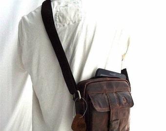 Genuine Leather Shoulder Bag Messenger man Briefcase 7 man vintage handbag 8 9 1
