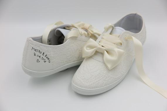6fcad12ee72e Converse scarpe da sposa sposa scarpe da ginnastica scarpe