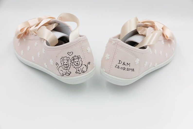 Wedding Flats for Brides Custom Wedding Flats The Wedding Shoes Bridal Flats Made to Order Wedding gift Nude White  Bridal Shoes