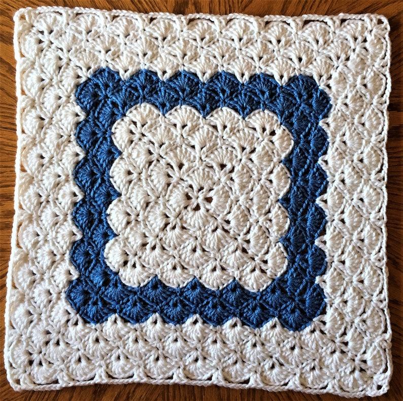 Beautiful Shell Crochet Table Mat Table Centerpiece Etsy