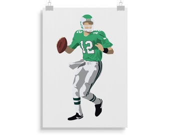 Randall Cunningham Poster - American Football - Randall Cunningham Print -  Wall Art - Gift 5cbdc18fb