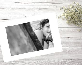 30X40, photography, Portrait, Lady, Decoration, Black and White