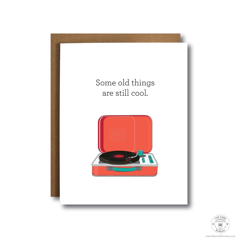 Funny Birthday Card Boyfriend Record Player Music Birthday Pop Etsy