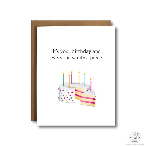 Funny Birthday Card For Friend 25th Birthday 30th Birthday Etsy