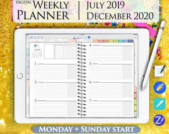 image about Digital Planners and Organizers known as Electronic organizers Etsy