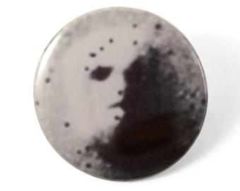 Mars Face Pin