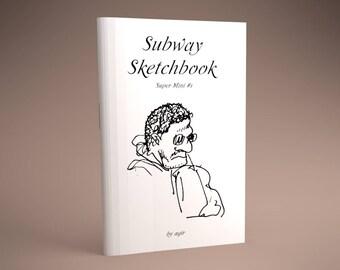 Subway Sketchbook Super Mini #1