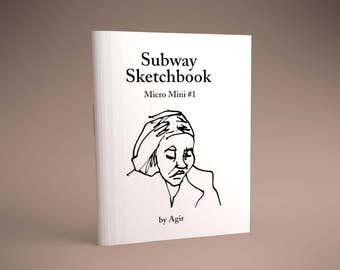 Subway Sketchbook Micro Mini #1