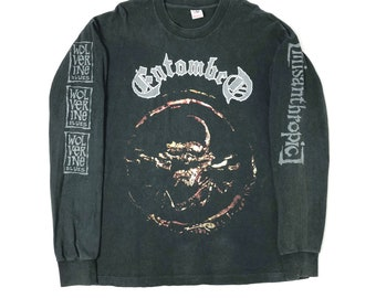 Morbid Angel Clothing, Shoes & Accessories Activewear Extreme Music Sweatshirt Xl Death Deicide Suffocation Immolation