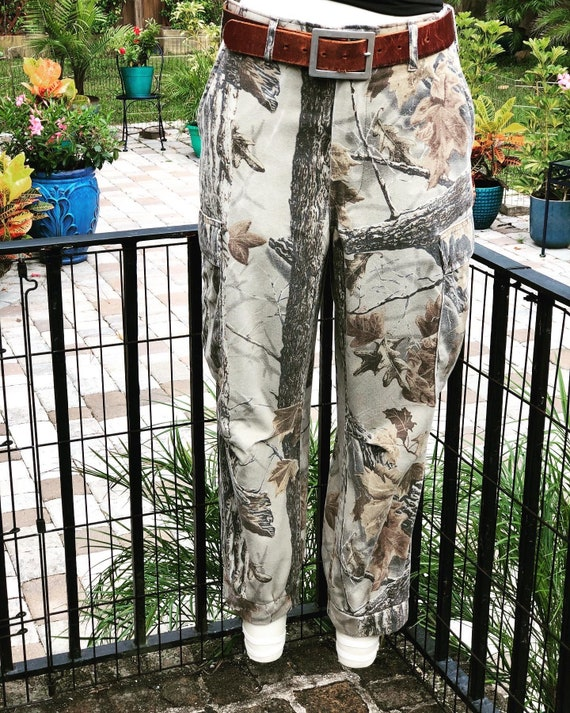 FREE US SHIPPING/tree bark pants/tree bark camo ca