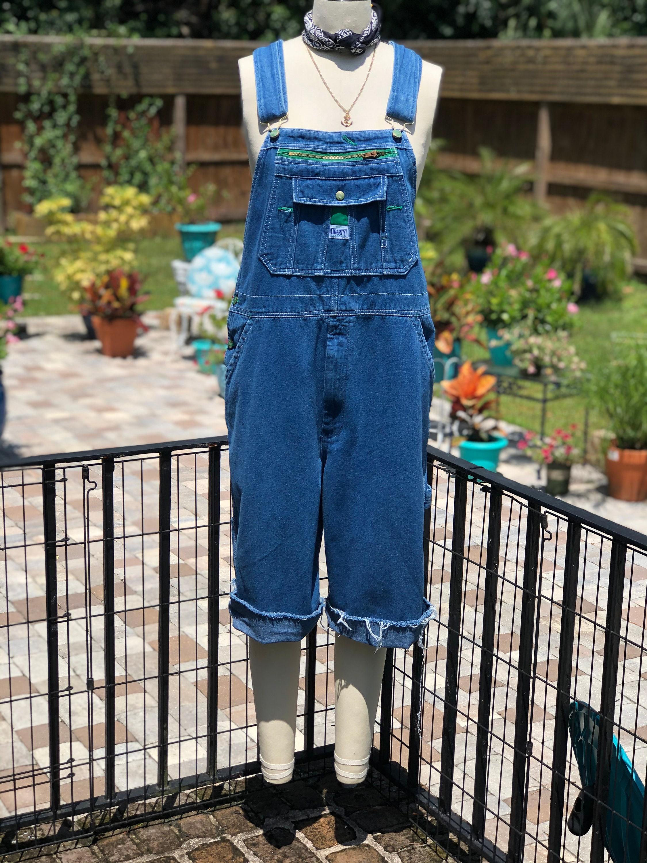 Vintage Overalls & Jumpsuits Vintage Overall Shorts38 Liberty OverallsDenim Overall ShortsVintage ShortsFab208NycFab208Boho Overalls $42.00 AT vintagedancer.com