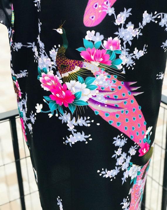 FREE US SHIPPING/satin kimono/black satin kimono/… - image 6