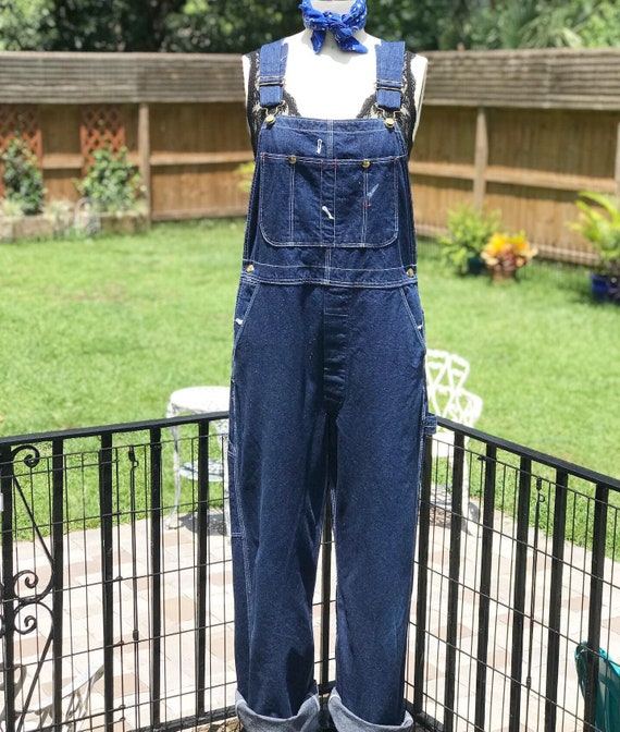 FREE US SHIPPING/ Denim overalls/vintage overalls/