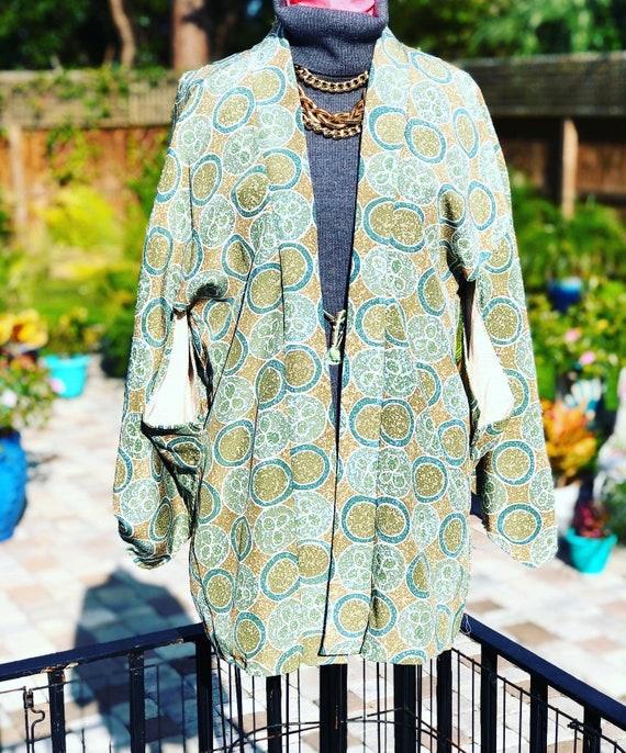 VINTAGE KIMONO /Haori kimono/kimono jacket/Japanes