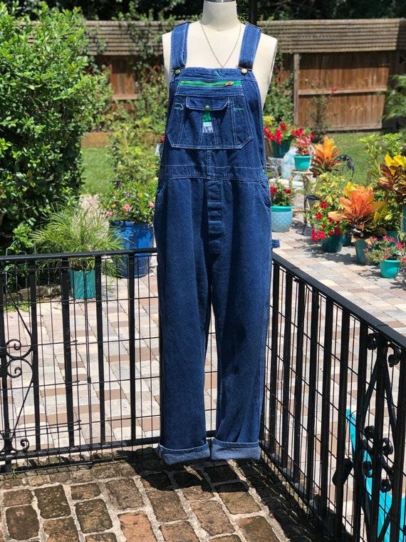 VINTAGE OVERALLS/denim overalls/vintage overalls/l