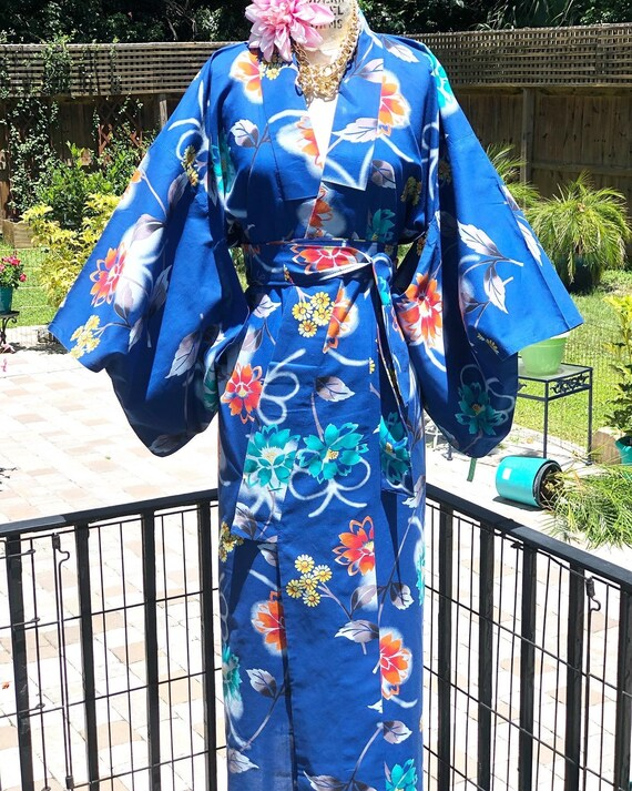 FREE US SHIPPING/kimono/Japanese kimono/yukata kim