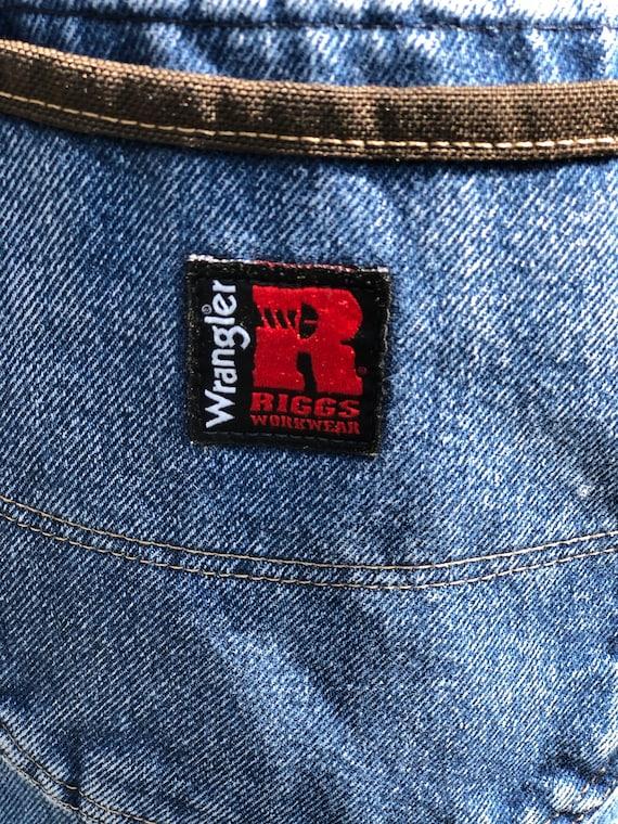 VINTAGE WRANGLER JEANS/Wrangler Riggs workwear/wr… - image 8