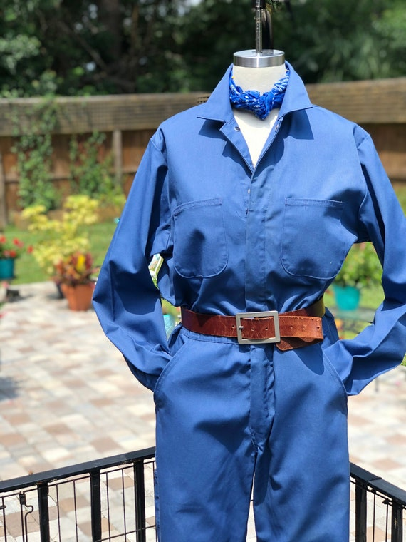 FREE US SHIPPING/coveralls/blue coveralls/utility