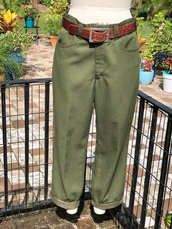 FREE US SHIPPING/army pants/vintage army pants/arm