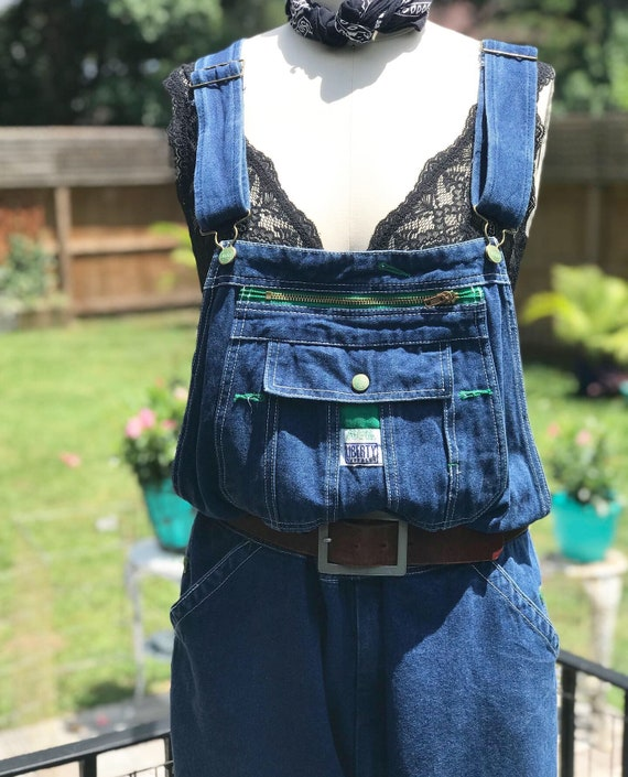 FREE US SHIPPING/vintage overalls/liberty brand ov