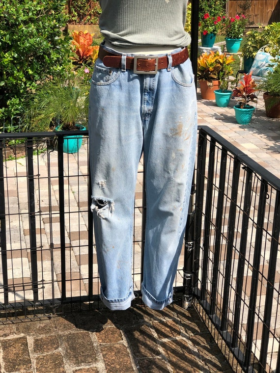 FREE US SHIPPING/vintage levis/faded levis/levi 50