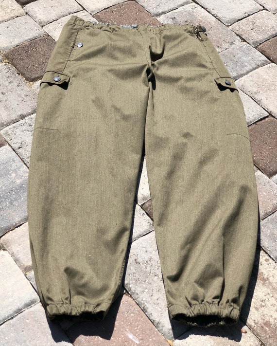 FREE US SHIPPING/Italian army pants/vintage army p