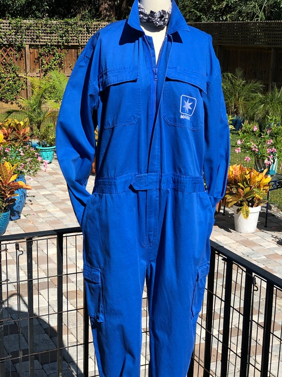 VINTAGE COVERALLS/coveralls/Maersk coveralls/shipp